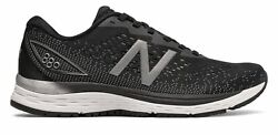 New Balance Women's 880v9 Shoes Black with Grey $47.00