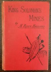 King Solomon's Mines By H. Rider Haggard - 1st Edition 3rd Issue