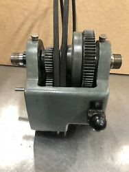 12andrdquo Atlas Craftsman Metal Lathe Headstock Assembly Commercial 101