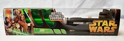 Star Wars Aotc Electronic Lightsaber Jedi Green Revenge Of The Sith New Sealed