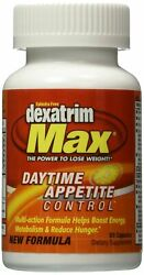 Stacker Dexatrim Max Daytime Appetite Control Tablets 60 Count