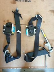 Nissan X-trail T32 13-19 Suv Os Right Front Seat Belts Driver/ Passenger Both