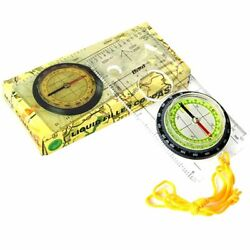 Special Compass Base Plate Ruler Map Scale Compass Water Resistant Plastic Made