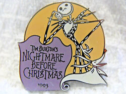 Disney Countdown To The Millennium Pin 72 Nightmare Before Christmas 1993 Jack