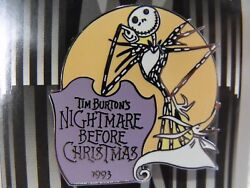 New Disney Countdown To The Millennium Pin 72 Nightmare Before Christmas 1993