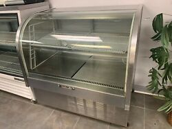Beverage Air Rounded Glass Cake/ Pastry Refrigerated Case-model Cdr4/1-b-120v