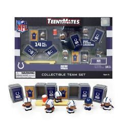 Nfl Teenymates Team Set Indianapolis Colts 14 Piece Set, New In Box