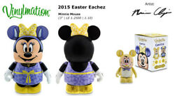Disney Vinylmation 3 Holiday Eachez Easter Mnnie Mouse Variant Bunny Toy Figure