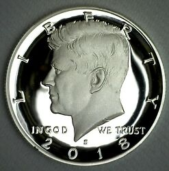 2018 S Proof Silver Kennedy Half Dollar Coin 50 Cent Jfk From Us Mint Proof Set