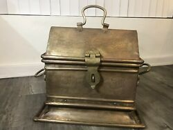 Vintage Late 1800 Persian Brass/bronze/copper Life Chest