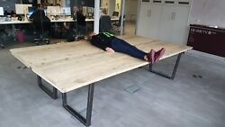 Industrial Rustic Reclaimed Board Room Table Large Tables Display Table