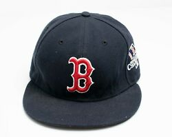 Boston Red Sox 2013 World Series New Era Fitted Hat 7 On Field Cap