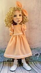 Vintage Cremecicle Dotted Swiss Dress Outfit For Connie Lowe Big Stella And Meili