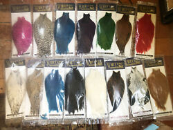Whiting American Hackle Rooster Capes Tons Of Colors New