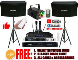 Singtronic Complete 3000w Karaoke System Unlimited Youtube Song Control By Phone