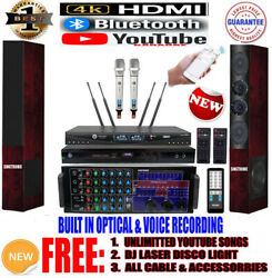 Singtronic Pro. 3000w Karaoke System Free 80000 Songs And Youtube By Iphone/ipad