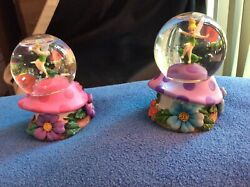 Retired Tinker Bell 2 Exclusive Miniature Snow Globe