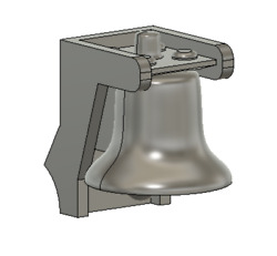 N Scale Train Parts - Gp9 Hood Bell Part Qty 2