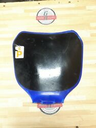 Yamaha Yz250f 2004 Front Number Plate Fairing Plastic
