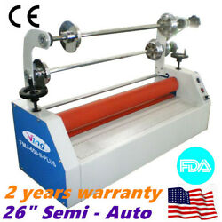 Ving 26 In Semi - Auto Small Home Cold Laminator For Business Card Laminating