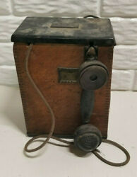 Western Electric Wwi Us Army Camp Telephone Mode A July 21 1917 Order No 8936