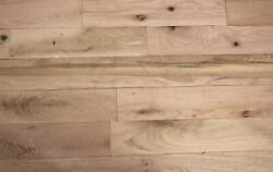 3 Common Unfinished 4 X 3/4 Solid Red Oak Hardwood Flooring 1.79 Sq Ft
