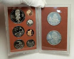 1973 Cook Islands Captain James Cook 2 Silver Of 9 Coin Antique Proof Set I76400