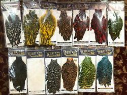 Whiting American Hackle Hen Capes Tons Of Colors New