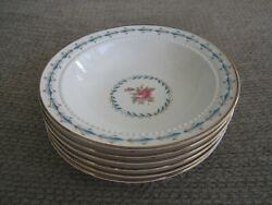 Set Of 6 - Harmony House Hall Mount Vernon Berry Or Dessert Bowls 6 Inch