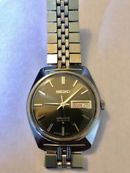 Vintage 1969 Seiko Automatic Men Watch [lm Lord Matic] 23 Jewels 5606 - 7000