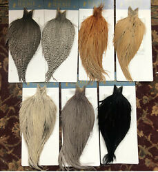 Whiting High And Dry Rooster Capes - Lots Of Colors New