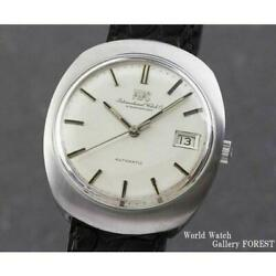 Cal 8541b Old Inter Fish Crown Vintage Self-winding Men's Finished [a0509]