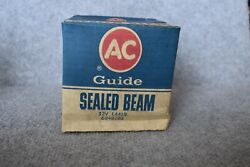 Ac Guide 12 Volt Sealed Beam Tractor Light Nos Ac Guide L4419 Very Unique