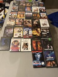 Lot Of 32used Dvd Movies -