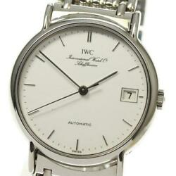 Portofinodate 3513-018 Stainless Steel Automatic White Menand039s Watch [b0512]