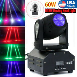 Uand039king Rgbw Beam Led Moving Head Light Dmx Wedding Disco Party Stage Lighting