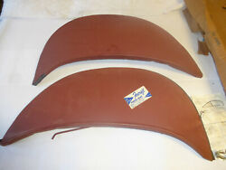 Vintage Nos Foxcraft 1966 Ford Falcon Pair Of Fender Skirts 289 Convertible