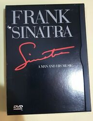 Frank Sinatra A Man And His Music Dvd Snapper Warner