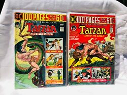 Tarzan Lord Of The Jungle 231 F+ 232 F- 100pg Comics Priced Right Make An Offer