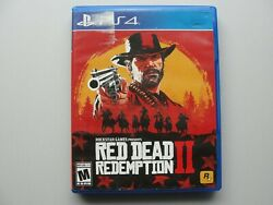 Red Dead Redemption Ii Ps4 2 Disc Set