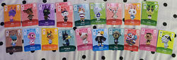 Nintendo Amiibo Card Series 1234 Rare Unscanned Brand New Authentic Real