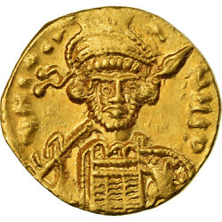 [488322] Coin Constantine Iv Solidus Constantinople Au Gold Sear1154