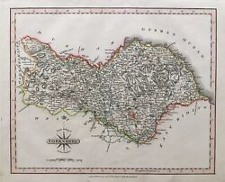 1809 Antique Map Yorkshire, North Riding, John Cary New And Correct English Atlas