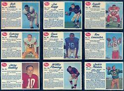 1962 Post Cfl Football Near Full Set Of 130/137 Cookie Gilchrist Lancaster Mosca