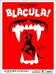 Blacula By Mitch Ansara - Very Rare Sold Out Mondo Print - 52 Copies Only