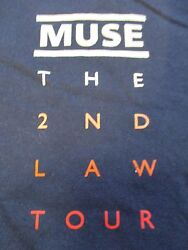 Muse The 2nd Law Local Crew Concert Tour Lg T-shirt