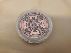 Vfw Copper Department Of Arizona Western Conference 2005 Coin