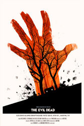 Evil Dead By Olly Moss - Signed - Rare Sold Out Mondo Print