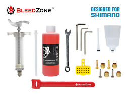 Bleed Kit For Shimano Hydraulic Mtb Brakes With Mineral Oil - Pick Your Kit