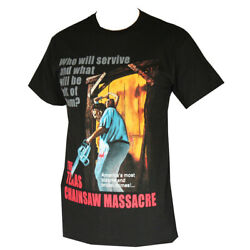 The Texas chainsaw Massacre Men's T-Shirts Black $8.99